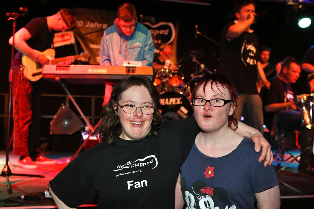 Fans und Band