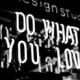 "Leuchtschrift ""DO WHAT YOU LOVE"""